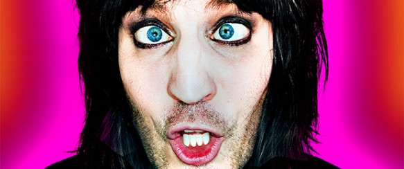 Noel Fielding turns Japanese