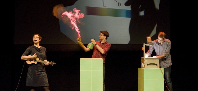 Review: Festival of the Spoken Nerd, Just for Graphs, Northern Stage