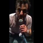 Patrick Monahan takes the Ice Bucket Challenge