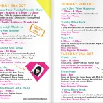 Women In Comedy Festival 2014 programme