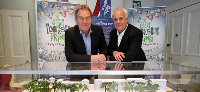 Great Yorkshire Fringe Pop Up Shop opens for business